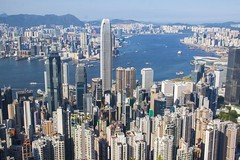 Victoria Harbor from Lugard Road (SAM601601) Tags: hongkong victoriaharbor sam601601