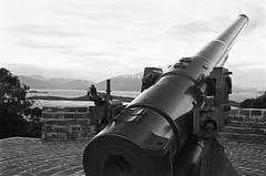 Defence of Noumea (robinguymer) Tags: noumea newcaledonia film bw nikonfe2 canon