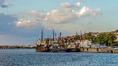 Harbor scenes (Paweł Szczepański) Tags: burgas bulgaria bg sozopol sal70200g dockbay