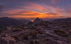 Trossachs Sunset (J McSporran) Tags: scotland trossachs lochlomondandtrossachsnationalpark benaan benvenue lochkatrine arrocharalps sunset clouds landscape canon6d ef1635mmf4lisusm heather
