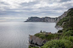 Forillon cliff (gerf88) Tags: gaspesie forillon summer saintlaurent gulf canada 2016 water cliff seaside