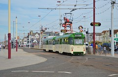 Twin Car 675 (PD3.) Tags: twin car 675 blackpool fleetwood fylde lancashire transport trams tram north pier central south pleasure beach pcv psv talbot square heritage