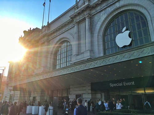 Greetings from the September 2016 #AppleEvent. #sanfrancisco #travel