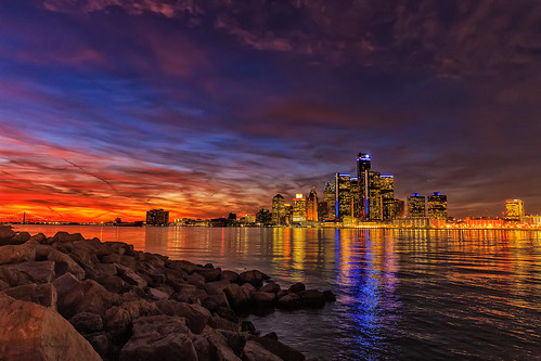 """Ship approaching Detroit • <a style=""""font-size:0.8em;"""" href=""""http://www.flickr.com/photos/76866446@N07/15157688334/"""" target=""""_blank"""">View on Flickr</a>"""