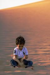 Khalid playing with sand (haidarism (Ahmed Alhaidari)) Tags: playing love children fun sand dune khalid الأطفال خالد لعب يلعب الرمل اللعب يحبون متعة الرمال