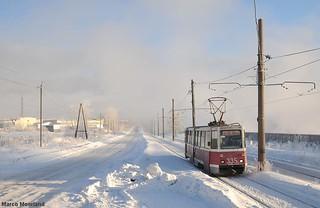 Eindeloos door de sneeuw