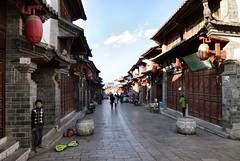 492 Yunnan - Tonghai (farfalleetrincee) Tags: china travel people house tourism asia adventure guide yunnan streetview urbanlandscape 云南 tonghai 通海县