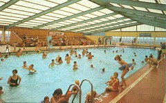Pontins Southport Holiday Camp (trainsandstuff) Tags: vintage retro swimmingpool archival ainsdale southport pontins holidaycamp