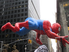 Macys Thanksgiving Day Parade on 45th St 6th Ave 2014 NYC 1445 (Brechtbug) Tags: thanksgiving street new york city nyc holiday balloons comic day character cartoon balloon parade helium strip macys avenue 6th 45th 2014 11282014