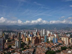Medelln - 2015 (laloking97) Tags: city blue colombia medelln antioquia