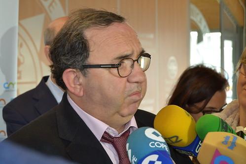 José Orihuela atiende a medios