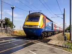 43058.Egmanton.19.7.10- (deltic17) Tags: train railway emt eastcoast 125 hst ecml class43 hirein