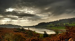 Wentwood Reservoir (Margarita K...) Tags: morning autumn sky cloud reflection water southwales wales clouds reflections skyscape landscape nikon cloudy south ngc reservoir waterscape fogy wentwood d5200 waterenvirons margaritakphotography