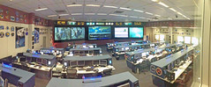 Space Station Flight Control Room Panorama