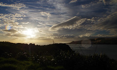 Arai te Uru 6 (Markj9035) Tags: sunset sea newzealand lake ferry coast lakes windswept coastline northland ahipara northlands oponomi