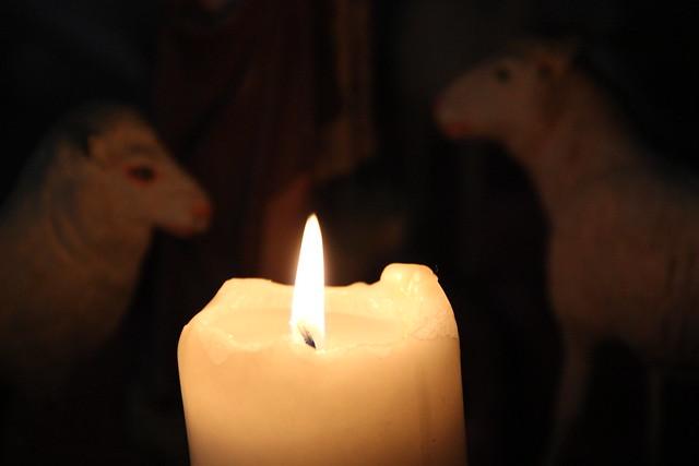 Une lumière dans la Sainte Nuit