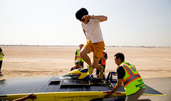 Abu Dhabi Solar Challenge (Michigan Engineering) Tags: car solar university michigan uae engineering racing international abu dhabi challenge select