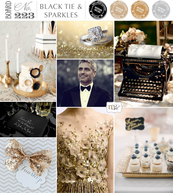 Board#223: Black Tie & Sparkles