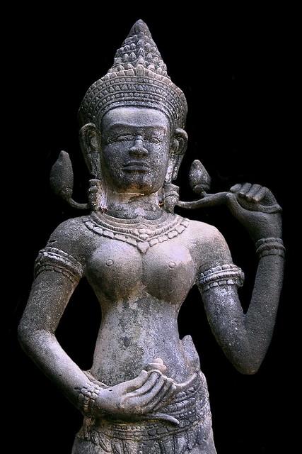 Cambodia - Ta Prohm Temple - Devata - 10b
