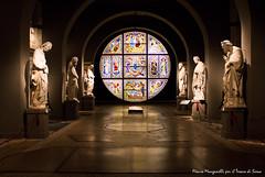 Il Museo dell'Opera del Duomo: la Vetrata originale del Duomo e statue originali di Giovanni Pisano