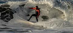 Snow Cave (cetch1) Tags: beach water surf surfer surfing surfboard rodeobeach bigwave cron waveporn northerncaliforniasurfing