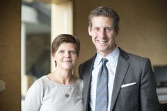 Kai Ryssdal & Deborah Clark (Christopher.Michel) Tags: marketplace ucdavis aspeninstitute christophermichel marketplacechristophermichel