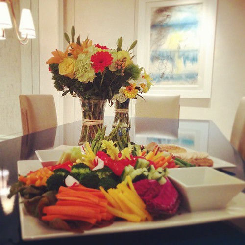 #veggieplatter #wintervegetables #bouquet