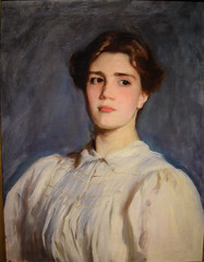 John Singer Sargent - Portrait of Sally Fairchild, 1887 at Cantor Arts Center at Stanford University California (mbell1975) Tags: california ca portrait college museum john painting cantor university gallery museu unitedstates centre fine arts center muse calif musee sally american realist stanford singer museo palo alto fairchild muzeum sargent realism finearts beaux beauxarts mze gallerie 1887