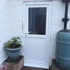 Upvc side door in Bexhill. January 2015