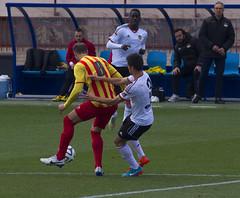 "Valencia Mestalla 1  Sant Andreu 1    22.02.2015 <a style=""margin-left:10px; font-size:0.8em;"" href=""http://www.flickr.com/photos/23459935@N06/16430130199/"" target=""_blank"">@flickr</a>"