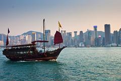 Victoria Harbour (ericmontalban) Tags: hongkong boat harbour victoria tsimshatsui sampan victoriaharbour
