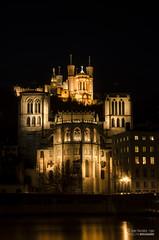 Saint-Jean Fourvire (adeline.bougard) Tags: pose nikon lyon cathdrale nuit basilique saintjean fourvire sane longue d7000