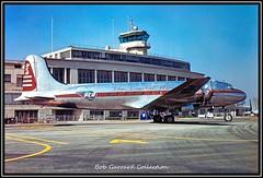 NX86557 Pennsylvania Central Airlines (Bob Garrard) Tags: nx86557 pennsylvania central airlines n86557 douglas c54 dc4 airline psa pacific southwest stewart air services blair 4232944 washington national airport dca kdca capital