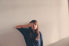 sleepy. (kauana-) Tags: portrait selfportrait me girl canon myself photography sleepy tired canont3