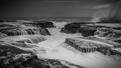 Multi Level (Shane Ainsworth) Tags: ocean sea blackandwhite bw white seascape nature water rock blackwhite seaside rocks waves seascapes wave australia nsw newsouthwales saltwater rockpool rockpools northernbeaches oceanpool seabaths northnarrabeen oceanart abigfave