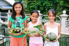 Photo of the Day (Peace Gospel) Tags: girls food girl smile vegetables smiling children happy healthy peace child joy harvest smiles peaceful happiness health crops organic empowered joyful sustainability nutrition empowerment provision