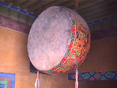 Big Drum Jokhang Lhsasa