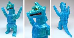 M1Go mini Mechagodzilla (scobot) Tags: robot mg2 mechagodzilla sofubi m1go