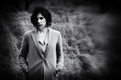 (Merih Miran) Tags: portrait woman art face canon artist mood grain story portraiture feeling effect