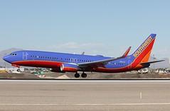 N8612K Southwest Airlines Boeing 737-8H4 , at LAS . (Bob Symes) Tags: southwestairlines las b737 n8612k lasvegas beoing737 mccarran airport b737800 b7378h4 36973