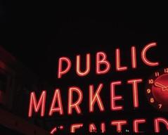 Pike Place Market (alexappugliesi) Tags: seattle city usa night lights washington neon signage neonsign pikeplacemarket