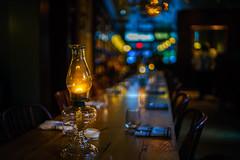 Playing with Voigtlander (Arutemu) Tags: bokeh bokehville a7r sonya7r ilcea7r evening night ambient restaurant voigtlander 35mm f12