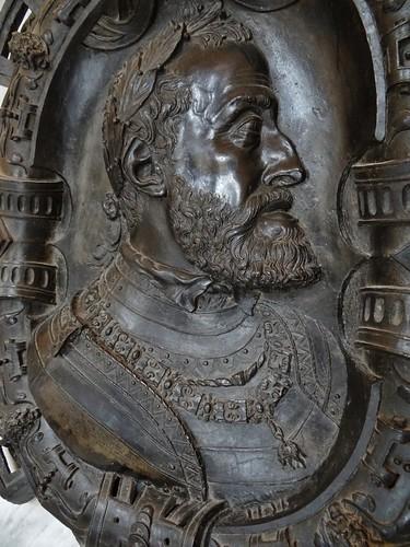1555 - 'Emperor Charles V' (Leone Leoni), Milano, Musée du Louvre, Paris, France
