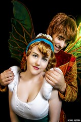 Thumbelina... You Aren't So Small After All... (Ring of Fire Hot Sauce 1) Tags: portrait cosplay thumbelina wondercon madelinebell princecornelius christianvillanueva