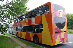 IMGP3291 (Steve Guess) Tags: uk england bus buses university arts more dorset gb alexander dennis poole enviro e400 wiltsdorset damory