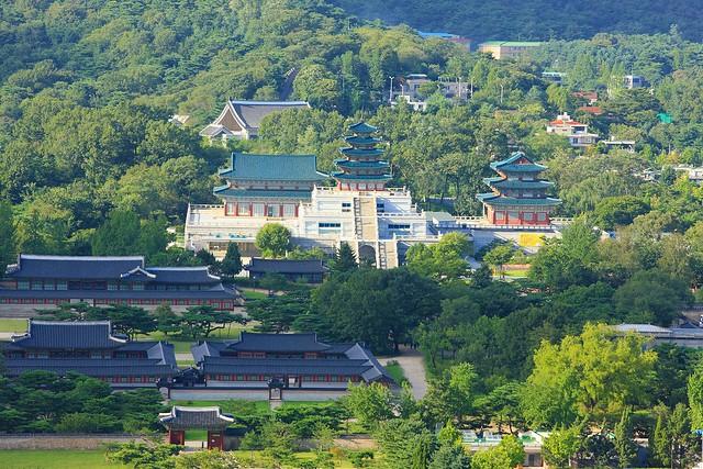 昌徳宮のシークレットガーデンと国立中央博物館