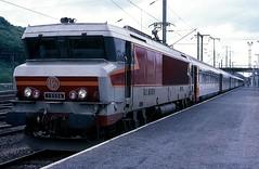 15006  Apach  15.05.86 (w. + h. brutzer) Tags: apach eisenbahn eisenbahnen train trains frankreich france railway elok eloks lokomotive locomotive zug 15000 sncf webru analog nikon