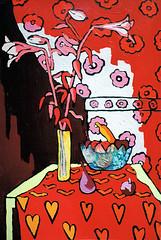 (naiveartworks) Tags: still life painting realism art flowers raphael perez israeli painter realistic artist stilllebenmalerei realismus kunst blumen maler realistischer knstler