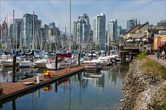 Dockside (Clayton Perry Photoworks) Tags: summer canada skyline vancouver boat bc falsecreek explorebc explorecanada dailyhivevan