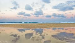 CatherineHillBay (Fire Light Photos) Tags: world ocean sky reflection beach water beautiful clouds canon reflections newcastle outdoor australia oceanside beautifulworld catherinehillbay discoveraustralia exploreaustralia